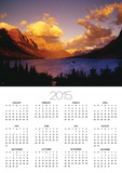 Sunrise over St. Mary Lake Posters by Darrell Gulin