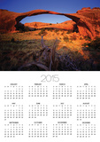 Landscape Arch in Arches National Park Posters by David Muench