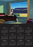 Western Motel Posters by Edward Hopper