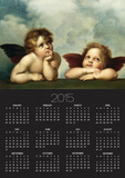 Painting of Cherubim After a Detail of Sistine Madonna Posters by  Raphael