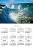Iguazu Waterfalls and Rainbow. Poster by Joseph Sohm