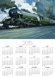 The Flying Scotsman Print by John S. Smith