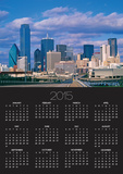 Dallas Skyline Prints by Murat Taner
