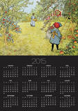 The Apple Harvest Prints by Carl Larsson