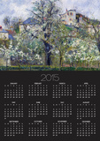 The Vegetable Garden with Trees in Blossom, Spring, Pontoise Posters by Camille Pissarro
