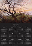 The Tree of Crows, 1822 Posters by Caspar David Friedrich
