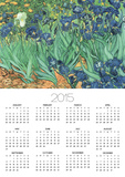 Irises, 1889 Print by Vincent van Gogh