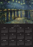 Starry Night over the Rhone, c.1888 Posters by Vincent van Gogh