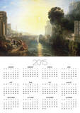 Dido Building Carthage, or the Rise of the Carthaginian Empire, 1815 Print by William Turner