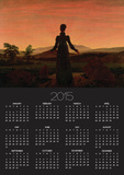 Woman at Dawn Posters by Caspar David Friedrich