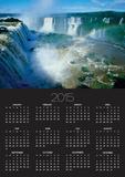 Iguazu Waterfalls and Rainbow. Print by Joseph Sohm