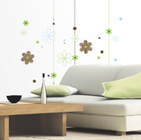 Graphic Blooms Wall Decal