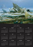 The Polar Sea Posters by Caspar David Friedrich