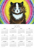 Cat in a Rainbow Posters by Louis Wain