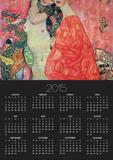 Women Friends, 1916-17 (Destroyed in 1945) Prints by Gustav Klimt