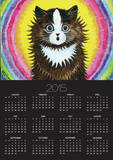 Cat in a Rainbow Photo by Louis Wain