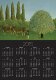 In the Fields, 1910 Posters by Henri Rousseau