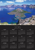 Wizard Island in Crater Lake Poster by Robert Glusic