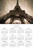 France, Paris, Eiffel Tower Prints by Mel Stuart