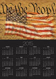 Constitution and U.S. Flag Posters by Joseph Sohm
