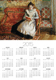 Jeanne Pissarro, Reading Posters by Camille Pissarro