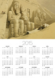 """The Great Temple of Abu Simbel, Nubia, from """"Egypt and Nubia,"""" Vol.1 Posters by David Roberts"""