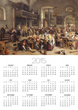 Feast in an Inn Print by Jan Havicksz. Steen