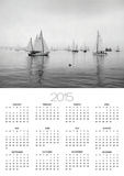 Sailboats Waiting to Race Posters by Ray Krantz