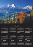 Berchtesgaden and Mount Watzmann Poster by Walter Geiersperger
