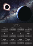 Earth and Total Eclipse Seen from Space Prints by Roger Ressmeyer