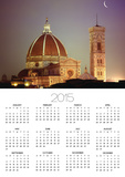 Duomo and Campanile of Santa Maria del Fiore Seen from the West Posters by Jim Zuckerman
