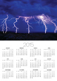 Lightning Storm over Prairie Prints by Aaron Horowitz