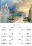 Venice: Grand Canal with Santa Maria Della Salute Prints by William Turner