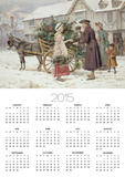 The Holly Cart Posters by George Goodwin Kilburne