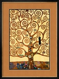 The Tree of Life, Stoclet Frieze, c.1909 Art by Gustav Klimt