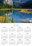 Mount Kitchener Reflected in Pond Near the Beauty Creek Hostel, Jasper National Park, Alberta, Cana Prints by Darwin Wiggett