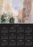 A Canal Near the Arsenale, Venice Print by William Turner