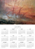 Detail of Sailing Ship from The Slave Ship Posters by Joseph Mallord William Turner