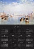 View of Venice: The Ducal Palace, Dogana and Part of San Giorgio Prints by Joseph Mallord William Turner
