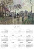 The Coach to Louveciennes, 1870 Prints by Camille Pissarro