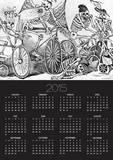 20th Century Calavera Posters by Jose Guadalupe Posada