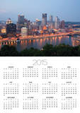 Pittsburgh Skyline Along the Monongahela River Posters by Richard Nowitz