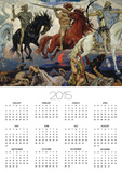 The Four Horsemen of the Apocalypse, 1887 Poster by Victor Mikhailovich Vasnetsov