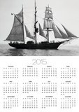 Bounty II Sailing Ship Posters by Ray Krantz