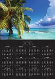 Beach at Soneva Fushi Resort in the Baa Atoll Print by Frank Krahmer