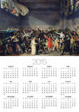 The Tennis Court Oath, 20th June 1789, 1791 Print by Jacques-Louis David