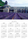 Lavender Field at Abbeye du Senanque Posters by Owen Franken