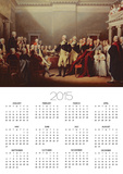 The Resignation of George Washington on 23rd December 1783, C.1822 Print by John Trumbull