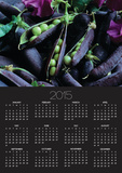 Pea Pods Poster by Clay Perry