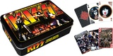 Kiss Playing Card Tin Set Playing Cards